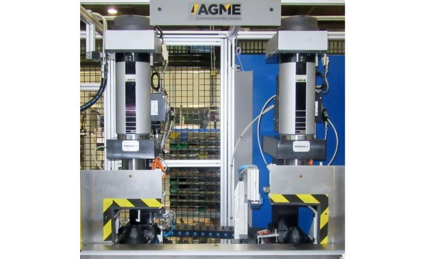 AGME伺服沖壓系統集成在我們的特殊機器中